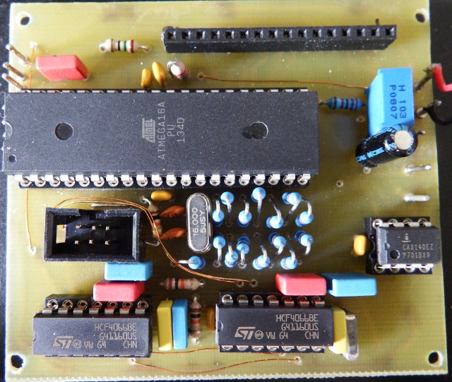 Signalgenerator on PCB